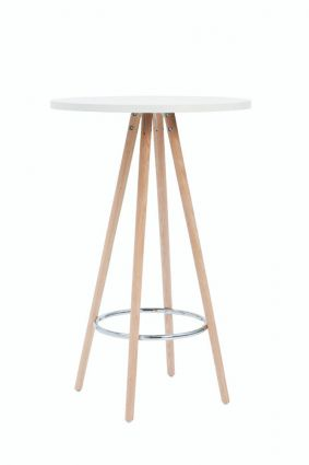 ORSO TABLE 110 Ø70 - Wit