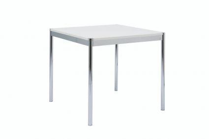 CORONA TABLE 75 80X80 - Wit