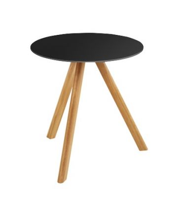 AMAGNI TABLE 50 - black / natural