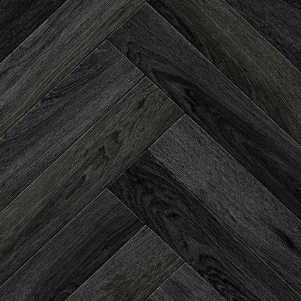 PARQUET WOOD - 599 Herringbone Large Grey
