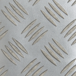 CHEQUER PLATE - Silver