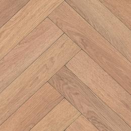 PARQUET WOOD - 533 Herringbone Large Brown