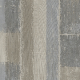 MULTI COLOURED WOOD - 4047 Patched Wood Blue