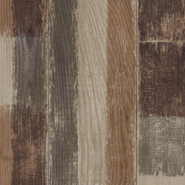 MULTI COLOURED WOOD - 4001 Patched Wood Brown
